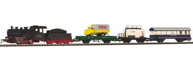 PIKO 97923 Start-Set Dampflok Güterzug SZD | DC analog | Spur H0