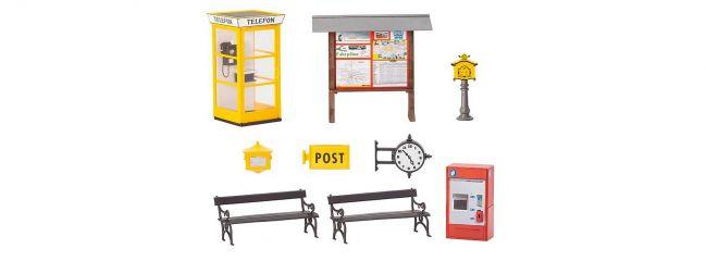 POLA 331745 Bahnhofs-Zubehör Bausatz Spur G
