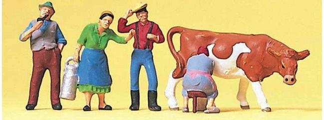 Preiser 10044 Auf dem Bauernhof Figuren Spur H0