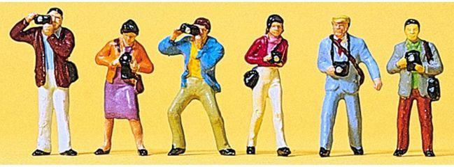 Preiser 10089 Fotografen | 6 Figuren | Spur H0