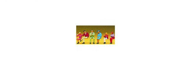 Preiser 10096 Sitzende Personen Figuren Spur H0