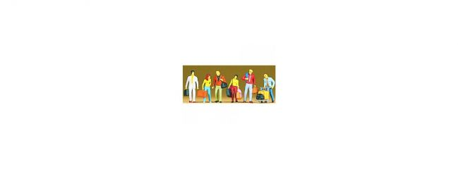 Preiser 10115 Gehende Reisende Figuren Spur H0