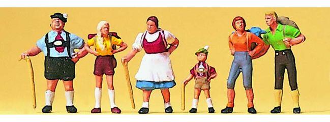 Preiser 10280 Familie Krause im Allgäu Figuren Spur H0