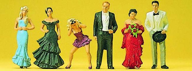 Preiser 10331 Hochzeitsgäste Miniaturfiguren Spur H0