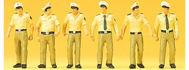 Preiser 10340 Polizisten in Sommeruniform Figuren Spur H0