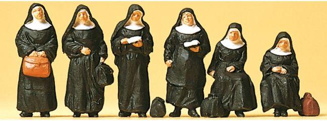 Preiser 10402 Nonnen | 6 Miniaturfiguren | Spur H0