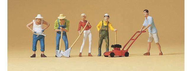 Preiser 10463 Bei der Gartenarbeit Figuren Spur H0