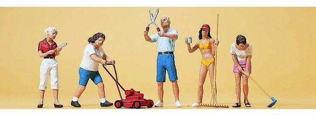 Preiser 10464 Hobbygärtner   5 Miniaturfiguren   Spur H0