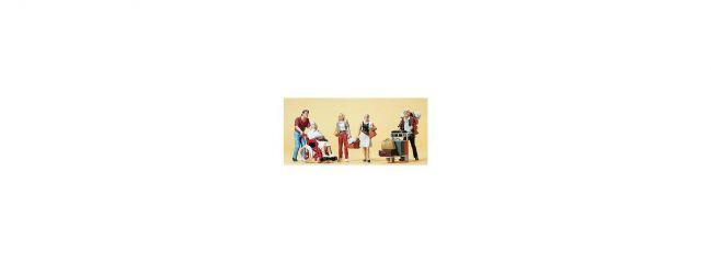 Preiser 10470 Reisende | 5 Miniaturfiguren | Spur H0