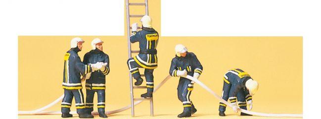 Preiser 10485 Feuerwehrmänner in moderner Einkleidung Figuren Spur H0