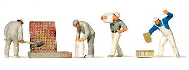 Preiser 10654 Bauarbeiter beim Verputzen Figuren Spur H0