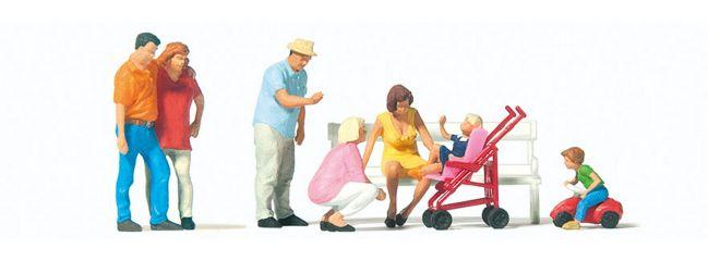 Preiser 10695 Familienausflug 7 Figuren 1:87