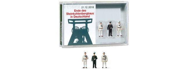 Preiser 13401 Ende des Steinkohlenbergbaus in Deutschland | 3 Stück | Figuren Spur H0