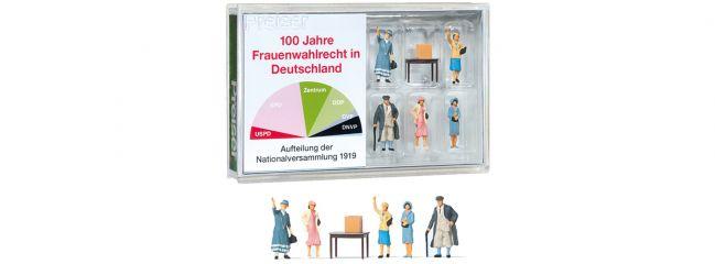 Preiser 13402 100 Jahre Frauenwahlrecht in Deutschland   5 Stück   Figuren Spur H0