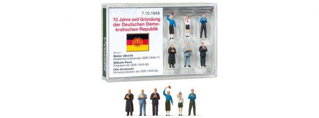 Preiser 13403 70 Jahre seit Gründung der DDR | 6 Stück | Figuren Spur H0