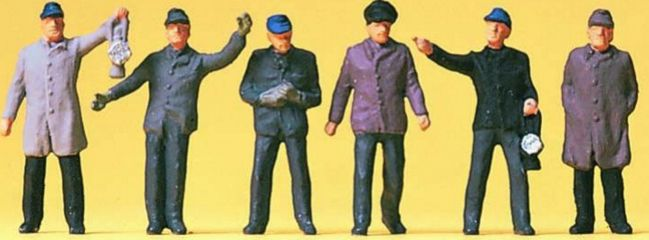 Preiser 14018 Rangierpersonal DB Miniaturfiguren Spur H0