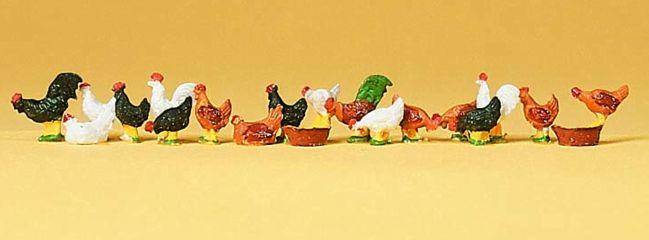 Preiser 14168 Hühner und Hähne | Spur H0