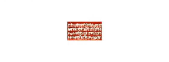 Preiser 16326 Verschiedene Berufe. 120 unbemalte Figuren / Figuren Spur H0