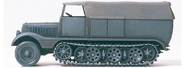 Preiser 16538 SdKfz11 Halbketten Zugmaschine | Bausatz Spur H0