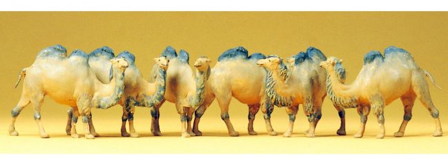 Preiser 20383 Kamele Miniaturfiguren Spur H0 | 1:87