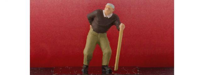 Preiser 28096 Mann mit Kreuzschmerzen | Miniaturfiguren Spur H0