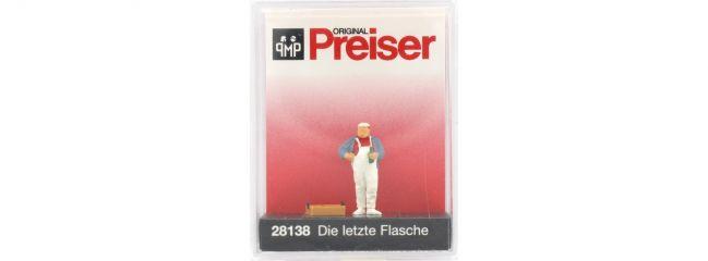 Preiser 28138 Die letzte Flasche | Miniaturfigur Spur H0