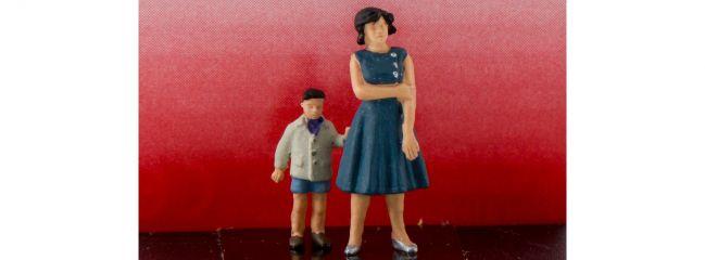 Preiser 28169 Mutter und Sohn   2 Miniaturfiguren Spur H0