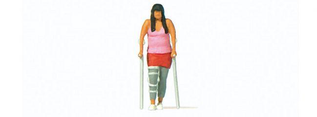 Preiser 28216 Beinbruch Einzelfigur Fertigmodell 1:87