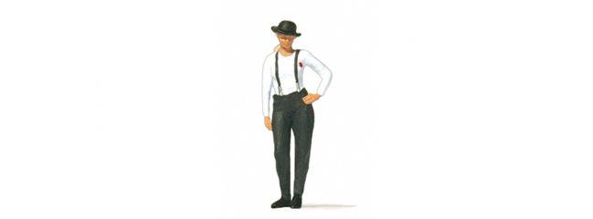 Preiser 28230 Frau mit Melone (Hut) Einzelfigur Fertigmodell 1:87