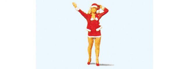 Preiser 29026 Christmas Girl | Miniaturfigur 1:87