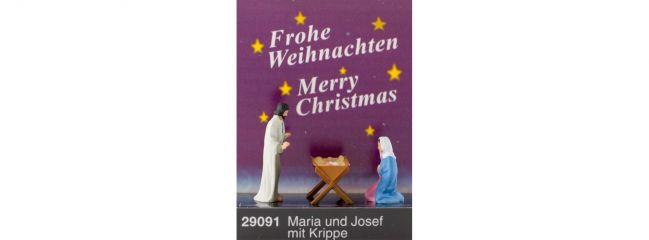 Preiser 29091 Maria und Josef mit Krippe Figuren Spur H0