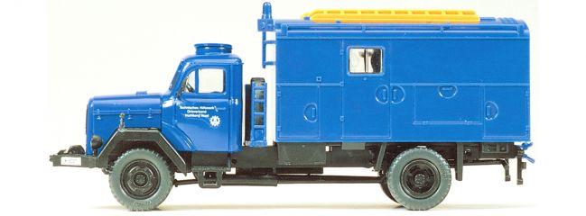 Preiser 31306 Magirus Mercur THW Gerätewagen Bausatz 1:87