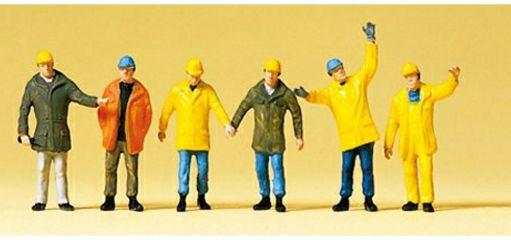 Preiser 88537 Arbeiter in Schutzkleidung Figuren Spur Z