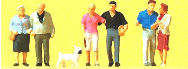 Preiser 88555 Paare und Hund Figuren Spur Z