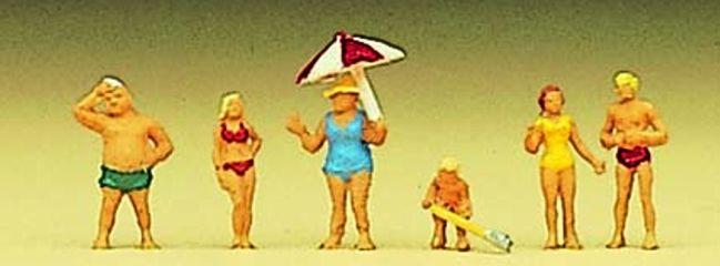 Preiser 88524 Familie Krause am Strand Figuren Spur Z