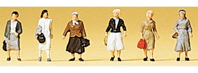 Preisler 88531 Pendlerinnen | 6 Stück | Figuren Spur Z