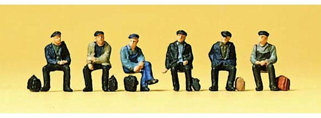 Preiser 88533 Sitzende Industrie- und Hafenarbeiter Figuren Spur Z
