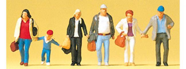 Preisler 88548 gehende Reisende | 6 Stück | Figuren Spur Z