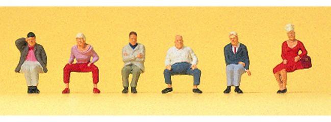 Preiser 88554 Sitzende Reisende Figuren Spur Z