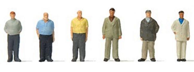 Preiser 88561 Stehende Männer | 6 Stück | Figuren Spur Z