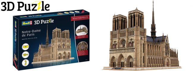 Revell 00190 Notre-Dame de Paris | 3D-Puzzle | 293 Teile | ab 10 Jahren