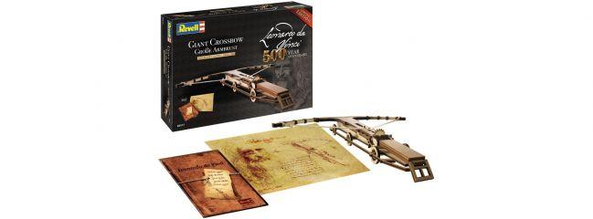 Revell 00517 Große Armbrust Leonardo da Vinci | Holz Bausatz 1:100