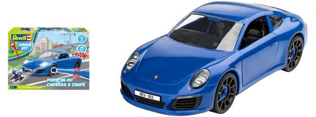 Revell 00821 Porsche 911 Carrera S Junior Kit | Auto Bausatz 1:20