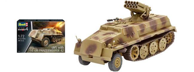 Revell 03264 Panzerwerfer 42 auf sWS | Militär Bausatz 1:72