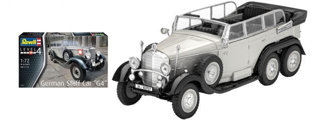 Revell 03268 German Staff Car MB G4 | Militär Bausatz 1:72
