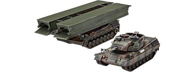 Revell 03307 Leopard 1A5 + Biber | Militär Bausatz 1:72