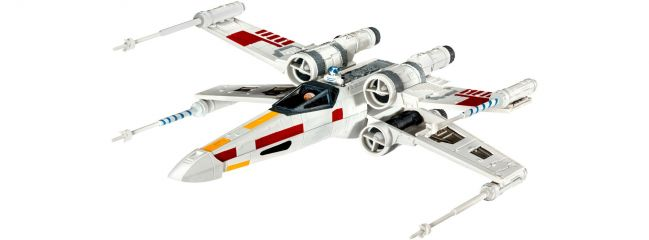 Revell 03601 X-Wing Fighter Star Wars | Raumschiff Bausatz 1:112