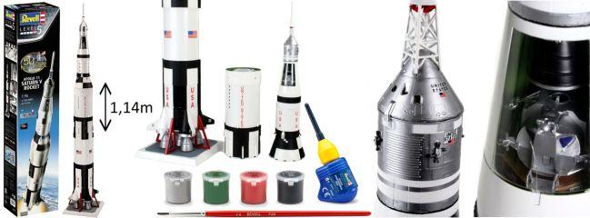 Revell 03704 Apollo 11 Saturn V Rocket | Raumfahrt Bausatz 1:96