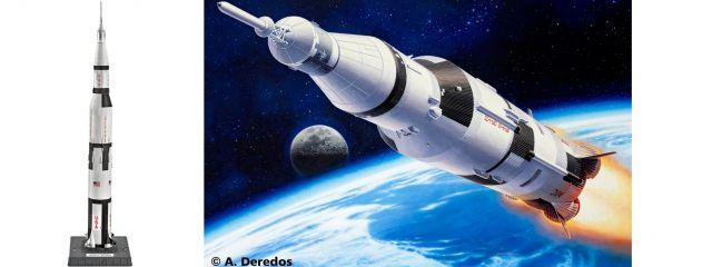 Revell 04909 Apollo Saturn V Raumschiff Bausatz 1:144