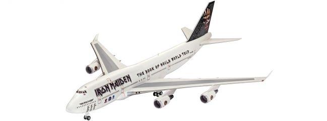 ausverkauft | Revell 04950 Boeing 747-400 |  IRON MAIDEN | Flugzeugbausatz 1:144